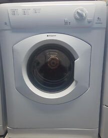 a388 white hotpoint 8kg vented tumble dryer comes with warranty can be delivered or collected