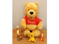 Disney Winnie the Pooh plush & figures