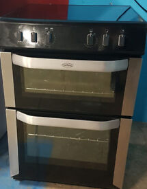 n508 black & silver belling 60cm ceramic electric cooker comes with warranty can be delivered