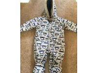 Boys all in one size 12-18 mths