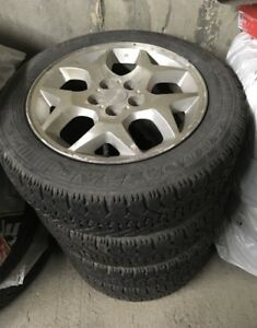 Excellent Winter Tire with Rim.  185/60/R15