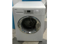 b066 white beko 9kg 1200spin AAB rated washing machine comes with warranty can be delivered
