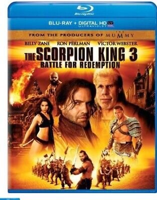 The Scorpion King 3: Battle for Redemption (Blu-ray/DVD, 2012, WS)   NEW