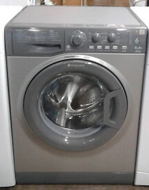 a192 graphite hotpoint 6kg 1200spin A+ rated washing machine comes with warranty can be delivered
