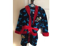 Brand new Thomas the tank engine dressing gown size 2-3years