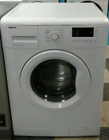 A270 white beko 7kg 1300 spin washing machine comes with warranty can be delivered or collected