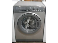 z192 graphite hotpoint 6kg 1200spin A+ rated washing machine comes with warranty can be delivered