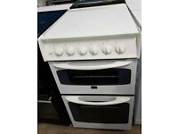 w757 white parkinson cowan 50cm gas cooker comes with warranty can be delivered or collected