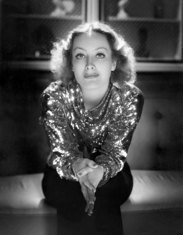 Joan Crawford Fashion Dress 1932 Black And White  8x10 Photo Print