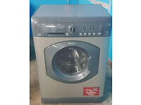 m510 graphite hotpoint 7kg washer dryer comes with warranty can be delivered or collected
