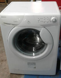 b452 white hoover 6kg 1400spin A+A washing machine comes with warranty can be delivered or collected