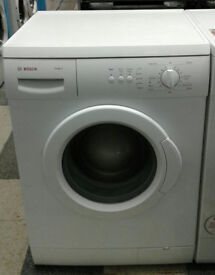 e363 white bosch 6kg 1200spin washing machine comes with warranty can be delivered or collected