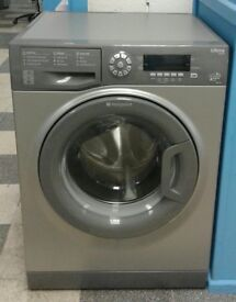 011 graphite hotpoint 9kg washing machine comes with warranty can be delivered or collected