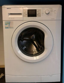 R294 white beko 7kg 1400spin A++ rated washing machine comes with warranty can be delivered