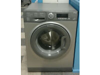 c011 graphite hotpoint 9kg 1400spin A*** rated washing machine come with warranty can be delivered