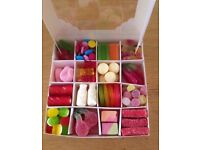 Pick and mix sweet boxes birthdays party's