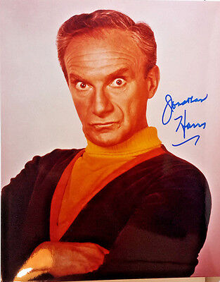 Lost in Space Autograph 8x10 Photo- Signed by Jonathan Harris (EBAU-1337)