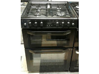 l351 black beling 60cm gas cooker comes with warranty can be delivered or collected