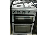 l349 silver flavel 60cm gas cooker comes with warranty can be delivered or collected