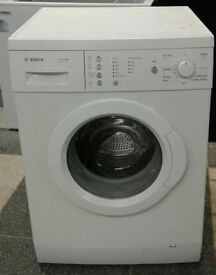 d276 white bosch 7kg 1200spin washing machine comes with warranty can be delivered or collected