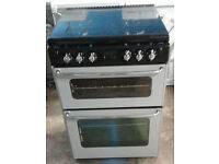 a119 silver stoves 60cm gas cooker comes with warranty can be delivered or collected