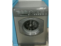 a045 graphite hotpoint 6kg 1400spin washing machine comes with warranty can be delivered