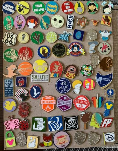 Disney Pins  - Grab Bag Lot PICK YOUR OWN SIZE LOT - Just $.99 for each pin