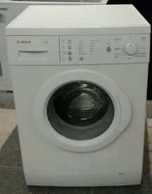 A276 white bosch 7kg 1200 spin washing machine comes with warranty can be delivered or collected