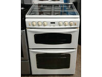 C313 white stoves 60cm gas cooker comes with warranty can be delivered or collected