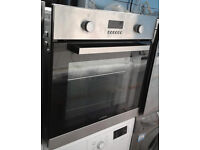 B397 stainless steel lamona single electric oven comes with warranty can be delivered or collected