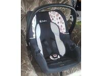 baby weavers newborn car seat