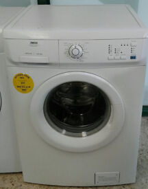 a079 white zanussi 6kg 1600spin washing machine come with warranty can be delivered or collected