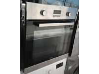 D397 stainless steel lamona single electric oven comes with warranty can be delivered or collected