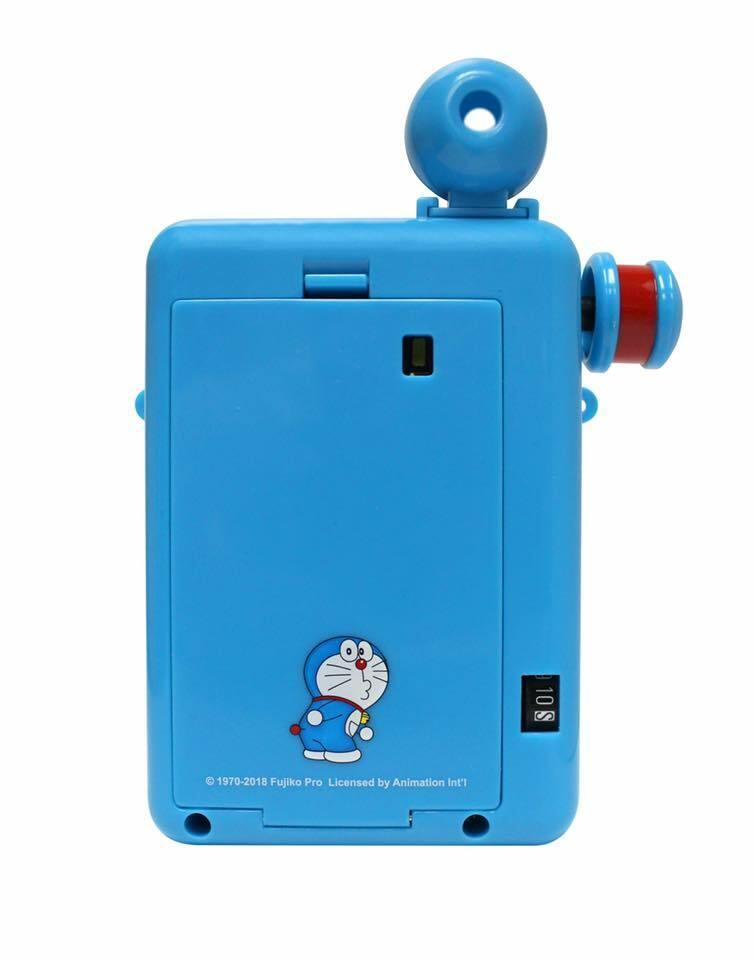 как выглядит Escura Instant 60s - Doraemon Hand Powered Camera Use Fujifilm Instax mini film фото