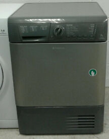 o448 graphite hotpoint 7kg condenser dryer comes with warranty can be delivered or collected