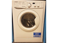 O169 NEW white indesit 8kg 1400spin washing machine comes with warranty can be delivered