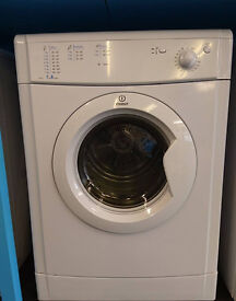 l349 white indesit 7kg B rated vented dryer comes with warranty can be delivered or collected