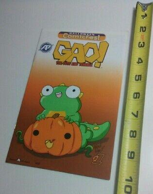 Halloween Comic Fest Sept 2017 Gao Cute and Teribble 8