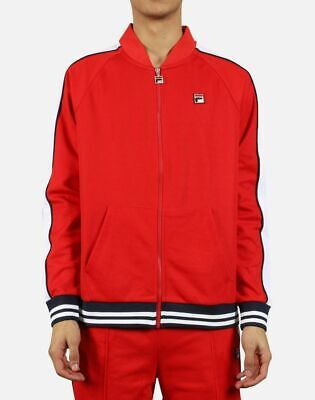 Fila Chinese Red/White-Peacoat Thurber Jacket