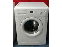 x334 white beko 7kg 1600spin A+AA rated washing machine comes with warranty can be delivered