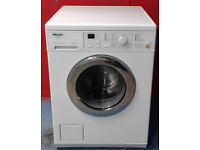 J283 white miele 5kg 1200spin washing machine comes with warranty can be delivered or collected