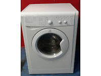 M557 white indesit 6kg&5kg 1200spin washing machine comes with warranty can be delivered or collect