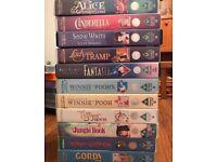11 Walt Disney video tapes