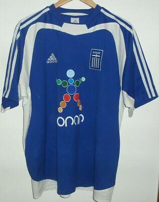 HELLAS GREECE EURO 2004 FOOTBALL SHIRT BY ADIDAS XL GREEK