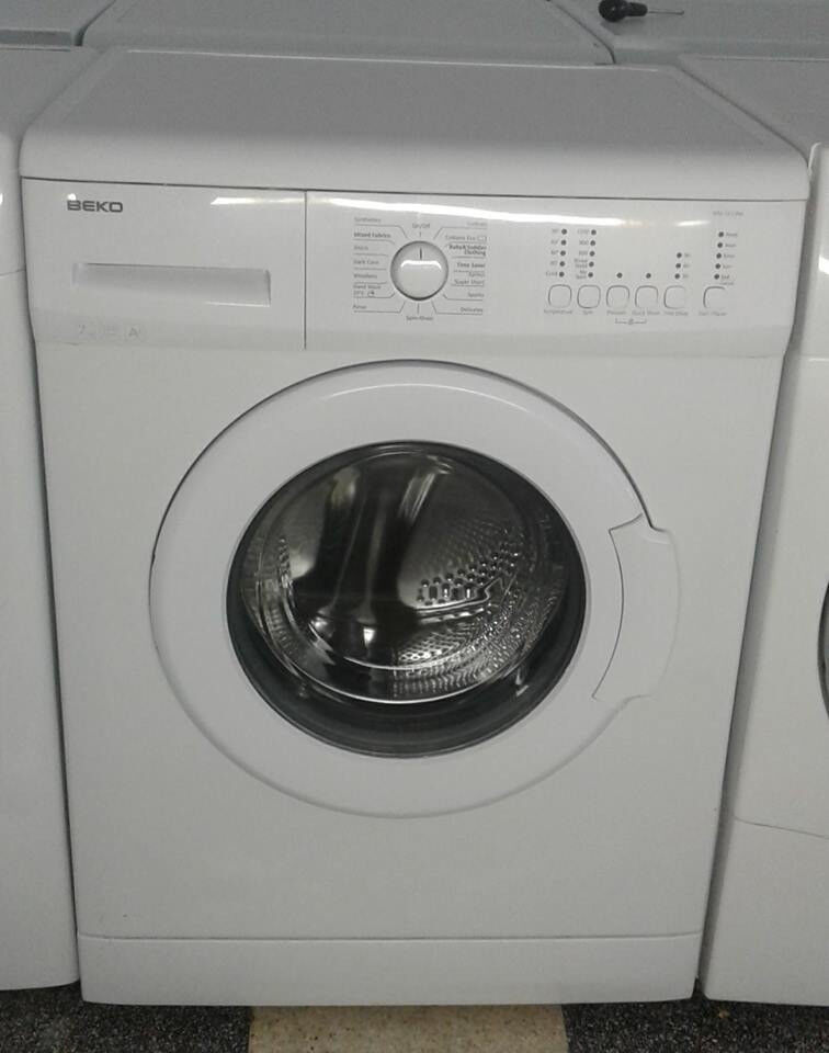 c648 white beko 7kg 1200spin A+ washing machine comes with warranty can be delivered or collected