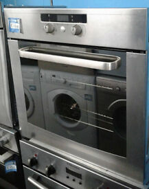 J289 stainless steel whirlpool single electric oven comes with warranty can be delivered