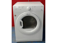 G533 white hotpoint 8kg vented tumble dryer comes with warranty can be delivered or collected