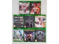 Xbox One games x 8 Bundle