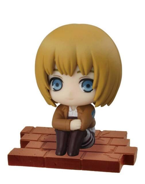 Bandai Attack on Titan Suwarasetai Sitting Collection Part1 Armin Arlert Figure
