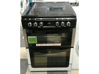 a776 stainless steel stoves 60cm double electric oven gas hob dual fuel cooker new with warranty